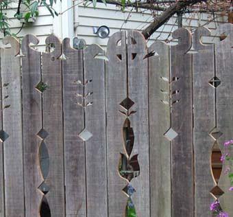 Узоры для забора из дерева фото