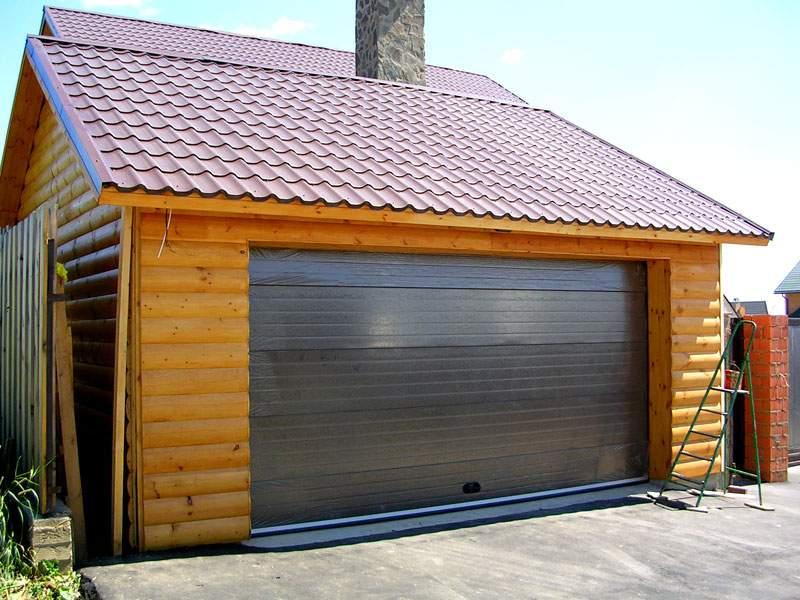 Ворота раздвижные на гараж 38