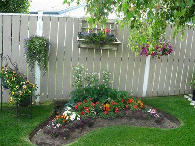 Фото садовых заборов