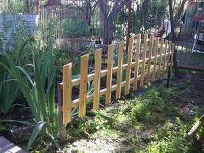 Ограды палисадников своими руками