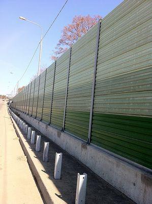 Забор из сэндвич панелей своими руками 6677