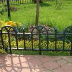 садовое ограждение