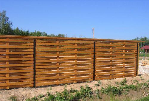 Как из досок сделать забор в 897