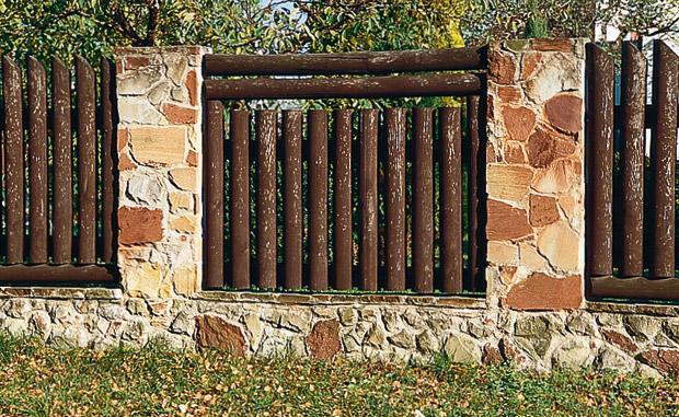 забор оригинальный