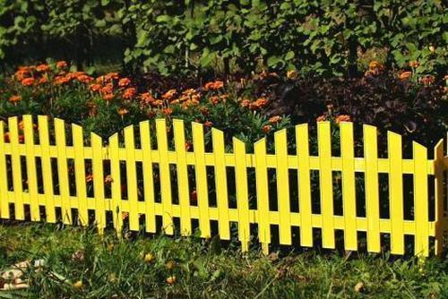 декоративный забор из пластика