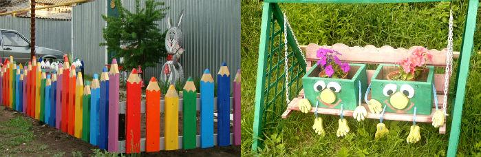 Забор поделка своими руками