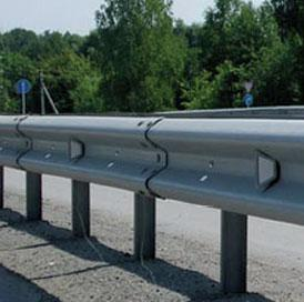 Дорожные ограждения металлические