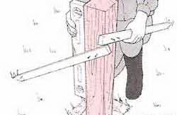 Все секреты строительства деревянного забора своими руками