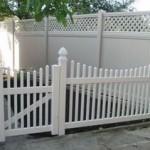 забор из ПВХ